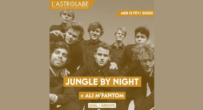 Orléans - JUNGLE BY NIGHT en concert / 6 places à gagner !