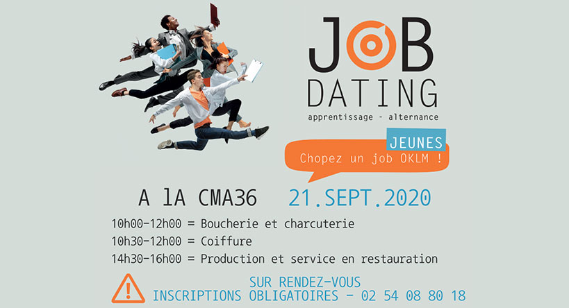 Châteauroux - Job Dating Apprentissage