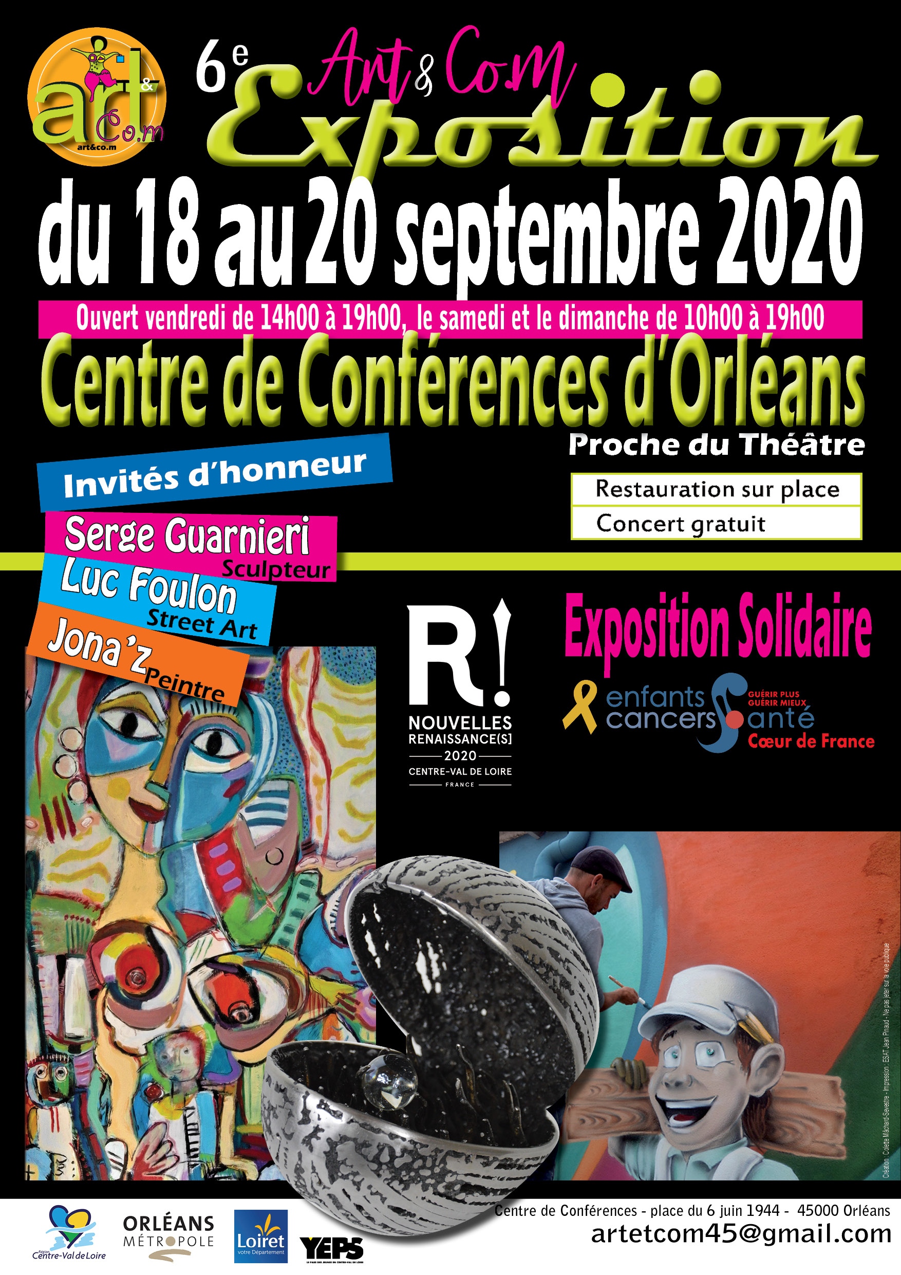 EXPOSITION SOLIDAIRE ART & COM