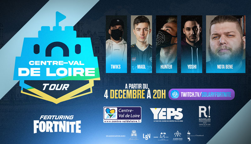 Chambord - Centre-Val de Loire Fortnite Tour